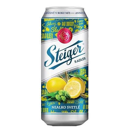Пивной напиток Steiger Radler Citron безалкогольн.