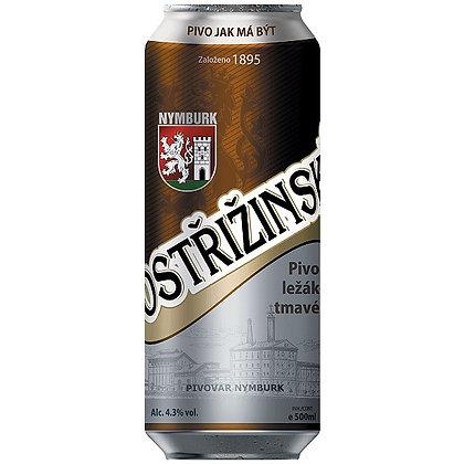 Пиво Postřižinské ležák tmavé
