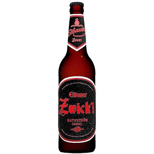 Пиво Eibauer Zwick'l Naturtrüb Dunkel 0,5 л бутыло