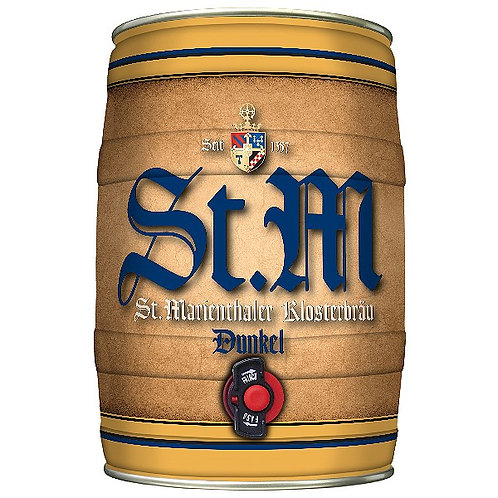 Пиво St.Marienthaler Klosterbräu Dunkel 5 л боч
