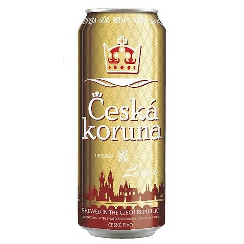 Пиво Česká Koruna Lager