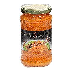 Морковный салат маринованный