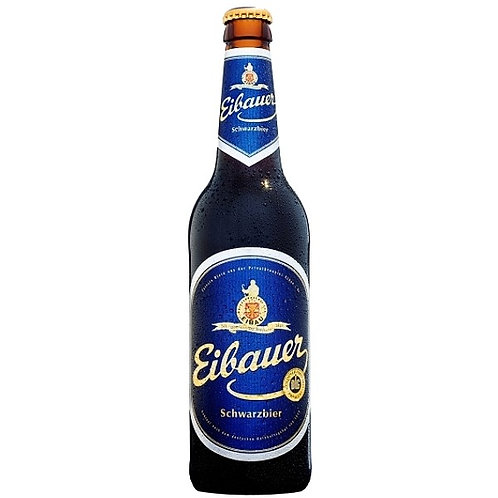 Пиво Eibauer Schwarzbier 0,5 л бутылочное