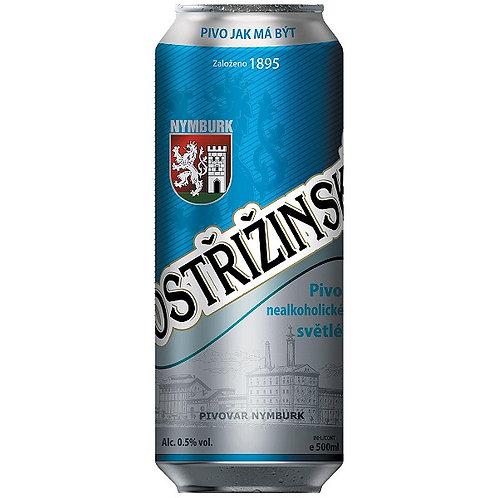 Пиво Postřižinské nealkoholické svĕtlé