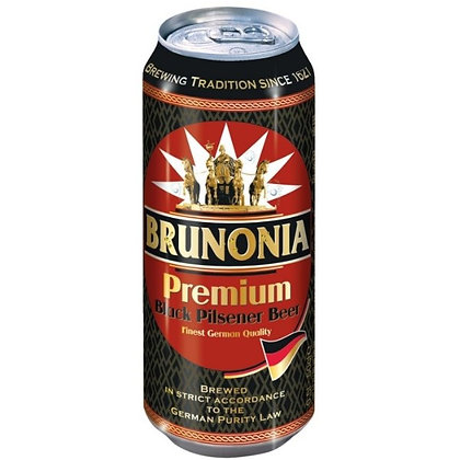 Пиво Brunonia Premium Black Pilsener Beer