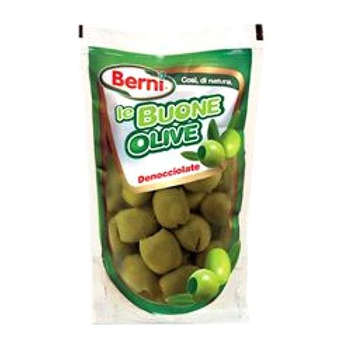 Оливки зелёные без косточки 200 г