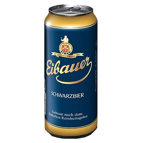 Пиво Eibauer Schwarzbier 0,5 л баночное