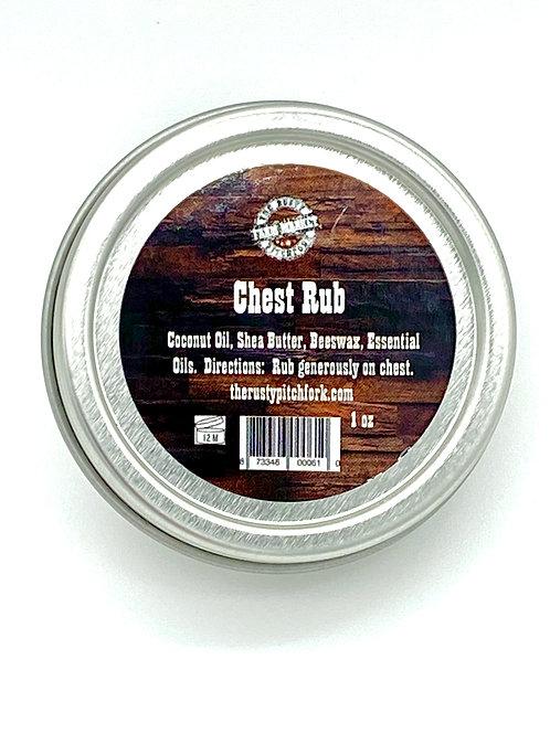 Chest Rub (like Vapo Rub, but all natural)