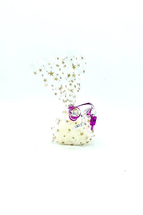 Spiced Cranberry Heart Bath Bomb
