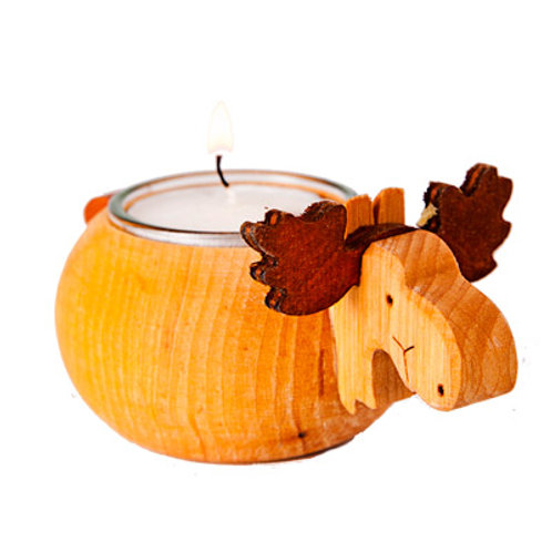 Moose Tealight Holder (light)