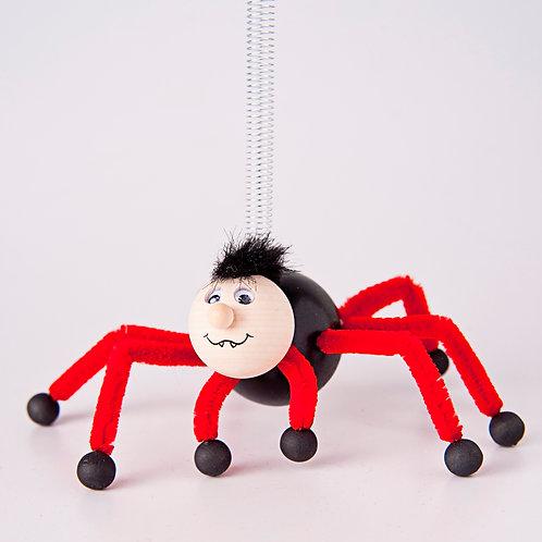 Spider black/red legs