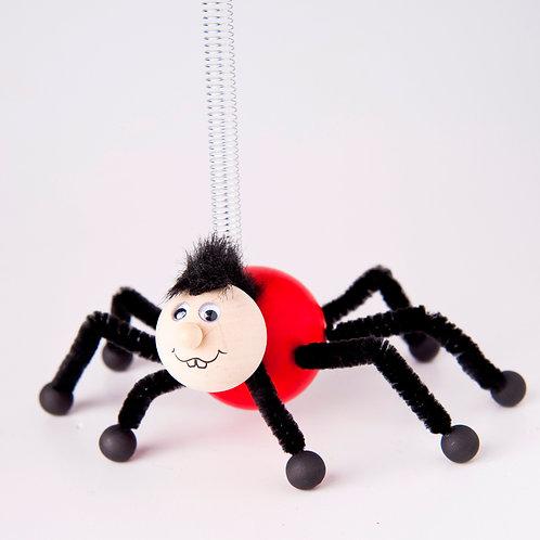 Spider red/black legs