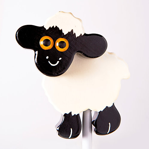 White Sheep Garden Ornament
