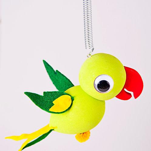 Parrot Neon Green