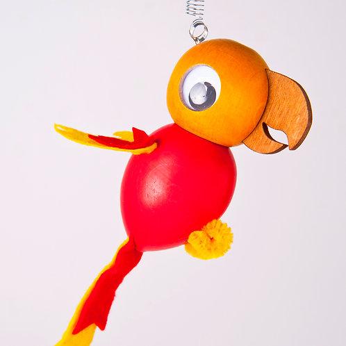 Parrot red/orange