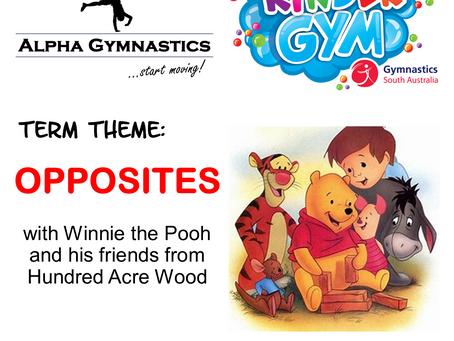 KinderGym Newsletter - Term 3 2020
