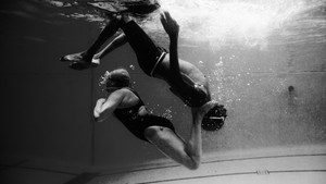 The Harlem Honeys and Bears want everybody in the pool All-black synchronized swimming team is break