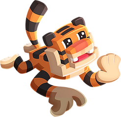 Idle Star Zoo tiger