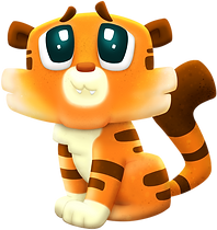 Idle Star Zoo cute tiger