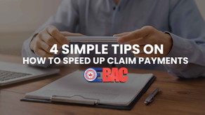 Tips to speed payment of claims