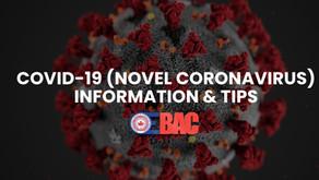 COVID-19 (novel coronavirus): Information & Tips