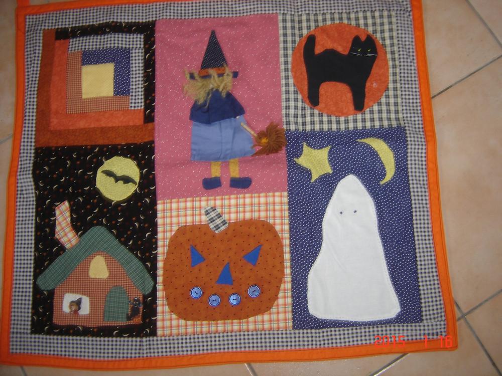 en tissu et en laine