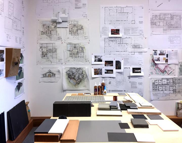 Bisbee A+D Studio wall
