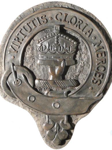"Donnacheidh (Robertson) Clan Badge - 10"" Across"