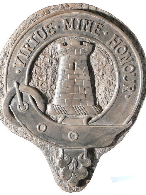 """MacLean Clan Badge - 10"""" Across"""