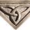 "Thumbnail: Trinity Knot - 7"" Across at Top"
