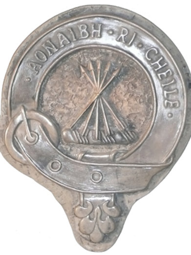 "Cameron Clan Badge - 10"" Across"