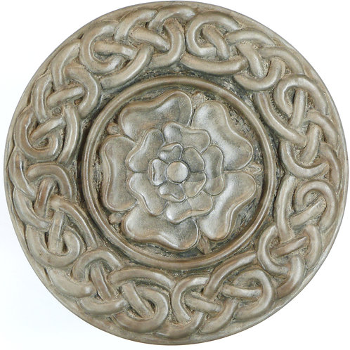 "Tudor Rose (Large with Knotwork) - 7"" Across"