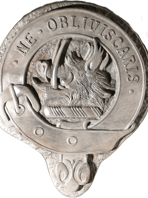 """Campbell Clan Badge - 10"""" Across"""