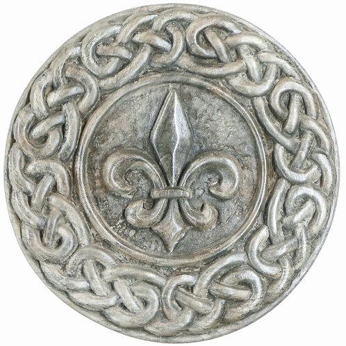 """Fleur de Lys (with Celtic Knotwork) - 7"""" Across"""