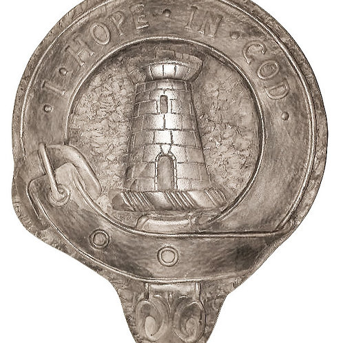 "MacNaughton Clan Badge - 10"" Across"