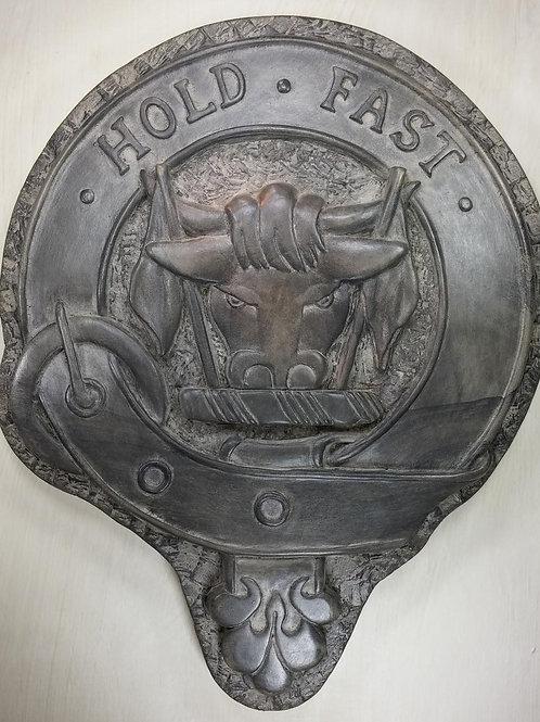 "MacLeod Clan Badge - 10"" Across"