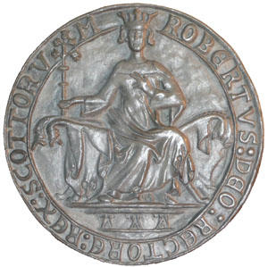 Seal of Robert Bruce  - Obverse