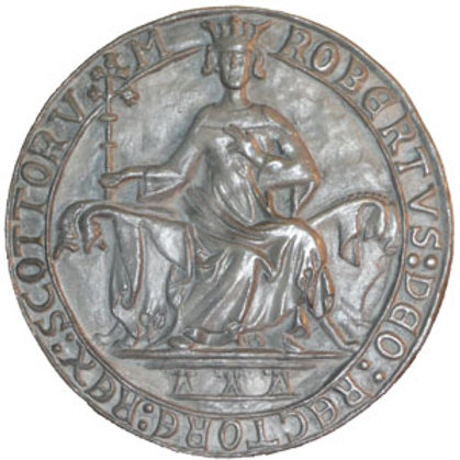 Seal of King Robert the Bruce (Obverse)