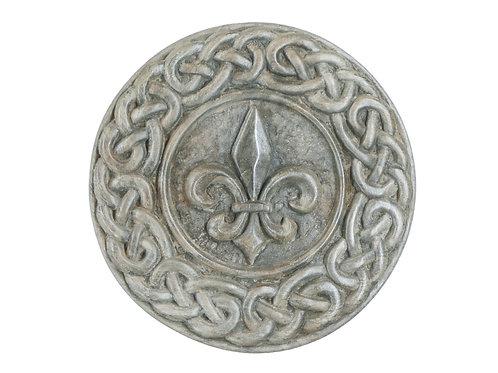 Fleur de Lys (with Celtic Knotwork)