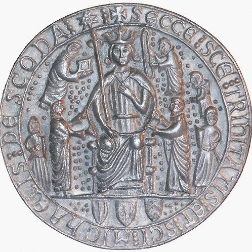 """Seal of Scone Abbey - 7"""" Across"""