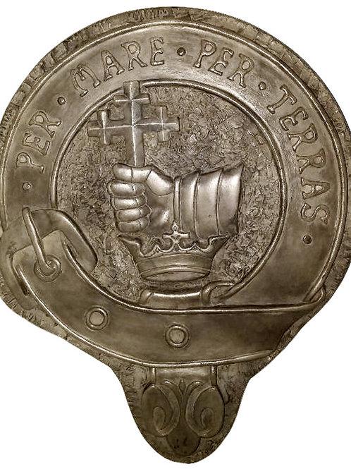 "MacDonald Clan Badge - 10"" Across"