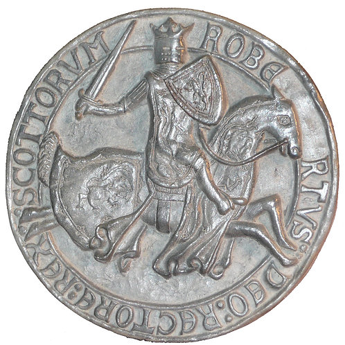 Seal of King Robert the Bruce (Reverse)