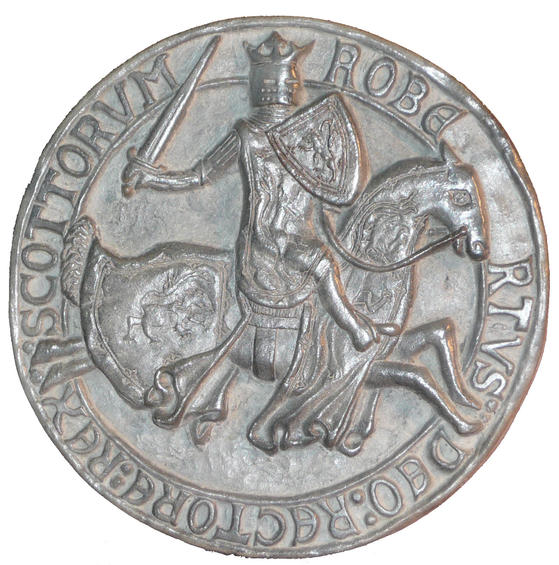 Seal of Robert Bruce  - Reverse