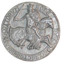 Seal of Robert Bruce  - Reverse