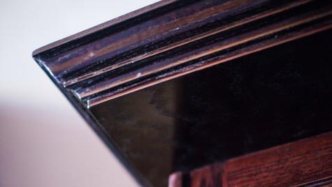 Crown Moulding Detail (Chalkboard Partition)