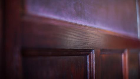 Panel Detail (Chalkboard Partition)