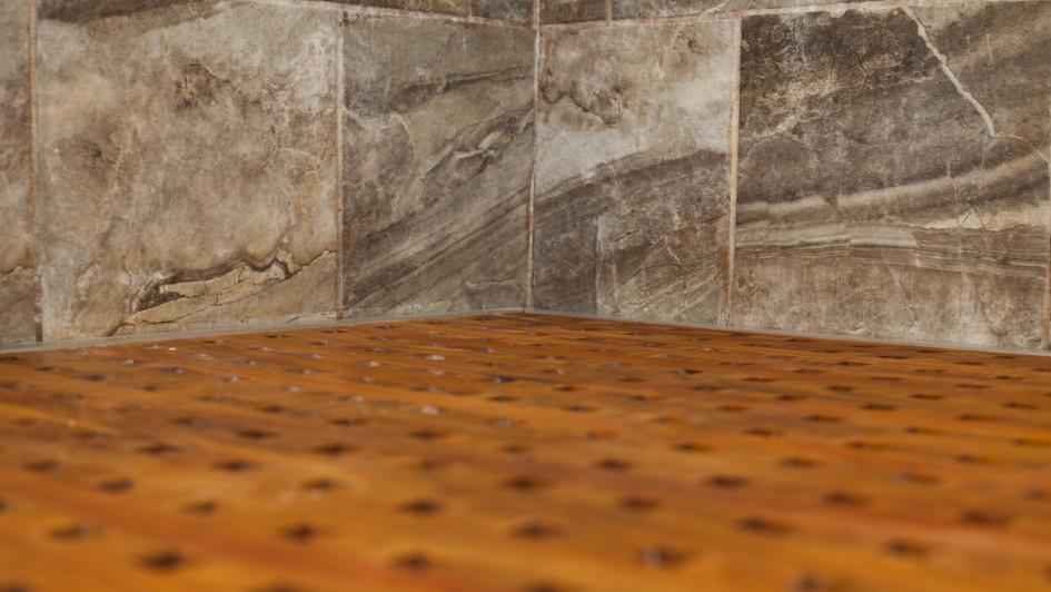 Shower Pan Detail