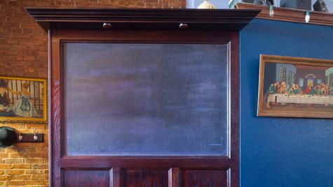 Chalkboard Partition