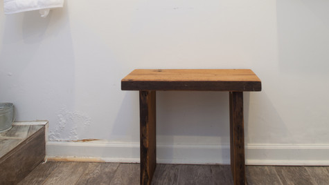 Reclaimed Oak Bench