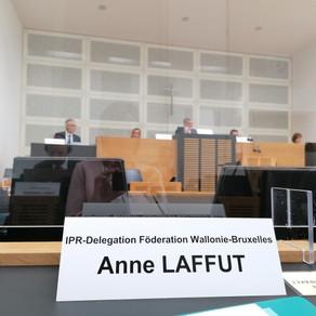 CPI séance plénière à Sarrebruck